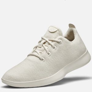 Allbirds Women's All white wool runners
